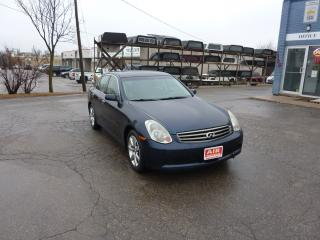 Used 2006 Infiniti G35X Luxury for sale in Kitchener, ON