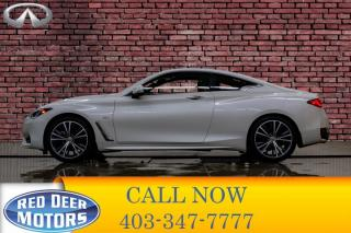 Used 2017 Infiniti Q60 AWD 2.0T Leather Roof Nav BCam for sale in Red Deer, AB