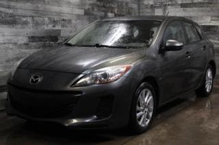 Used 2013 Mazda MAZDA3 BLUETOOTH,MAGS,AIR CLIMATISÉ, GR.ÉLECTRIQUE for sale in St-Sulpice, QC