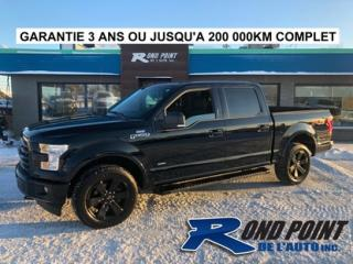 Used 2016 Ford F-150 Fx-4 sport for sale in Plessisville, QC