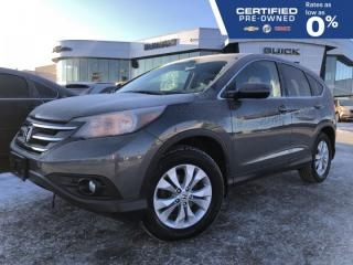 Used 2014 Honda CR-V EX-L 4WD | Heated Seats | Power Sunroof for sale in Winnipeg, MB