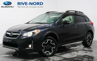 Used 2017 Subaru XV Crosstrek Limited EyeSight NAVI+CUIR+TOIT.OUVRANT for sale in Boisbriand, QC