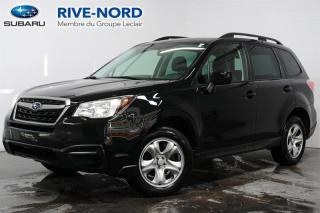 Used 2018 Subaru Forester CAM.RECUL+SIEGES.CHAUFFANTS+BLUETOOTH for sale in Boisbriand, QC