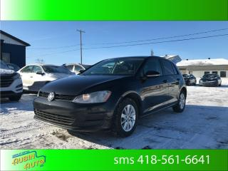 Used 2015 Volkswagen Golf TRENDLINE for sale in St-Agapit, QC