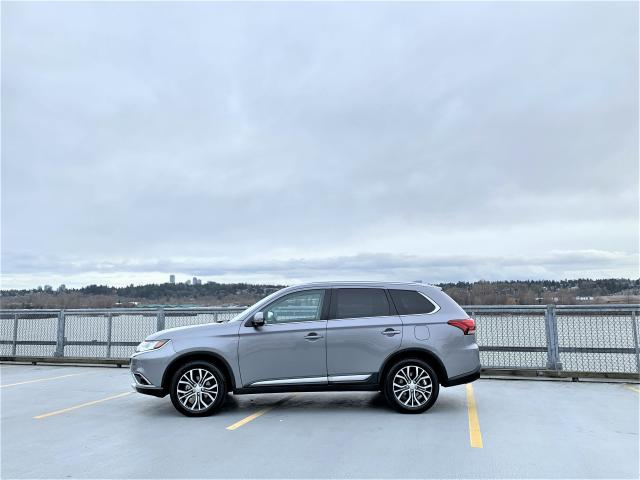 2018 Mitsubishi Outlander GT S-AWC 360 CAM - LEATHER - 7 PASS - ONLY 15K
