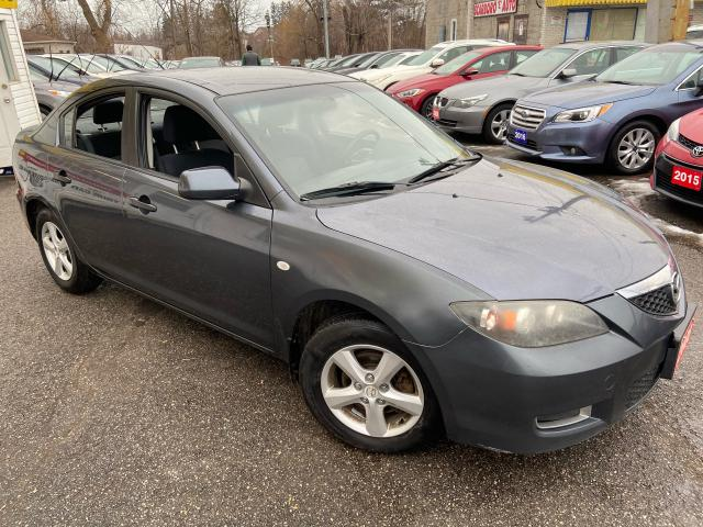 2008 Mazda MAZDA3 GS/ 5 SPEED/ POWER GROUP/ ALLOYS/ RUNS WELL!