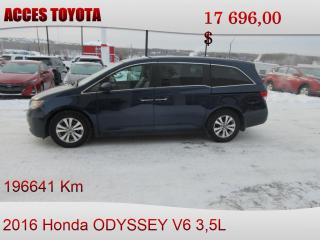 Used 2016 Honda Odyssey EX-L RES for sale in Rouyn-Noranda, QC