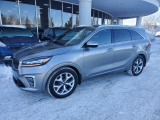Used 2019 Kia Sorento SX; 7 PASS, NAVI, BACKUP CAM, HEATED AND COOLING SEATS, POWER TAILGATE AND MORE for sale in Edmonton, AB