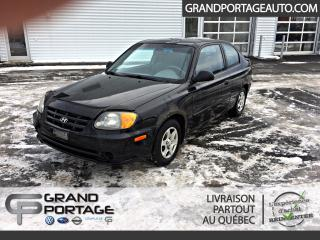 Used 2006 Hyundai Accent Hayon à 3 portes GS, boîte automatique for sale in Rivière-Du-Loup, QC
