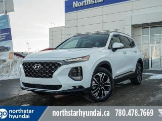 New 2020 Hyundai Santa Fe ULTIMATE: BLINDVIEW MONITOR/BLUELINK/HEATED AND COOLED SEATS/POWER LIFTGATE for sale in Edmonton, AB