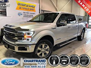 Used 2019 Ford F-150 DEMO Lariat cabine SuperCrew 4RM caisse for sale in Laval, QC