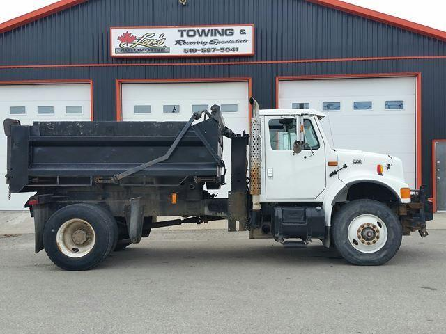1997 International 4300 DT466E Diesel Dump Truck