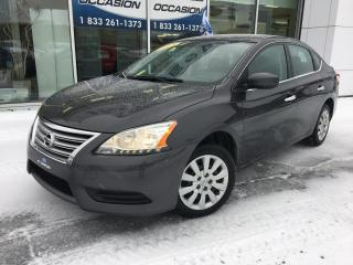 Used 2015 Nissan Sentra S AUT TOUT EQUIPÉ IMPECCABLE for sale in St-Georges, QC