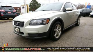 Used 2008 Volvo C30 2.4i|LOW KM|NO ACCIDENT|LEATHER|CERTIFIED for sale in Oakville, ON