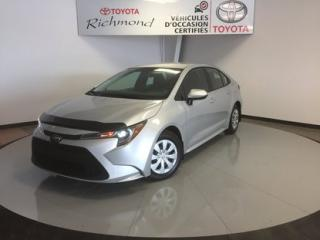 Used 2020 Toyota Corolla L Gr:A *DÉMO* for sale in Richmond, QC