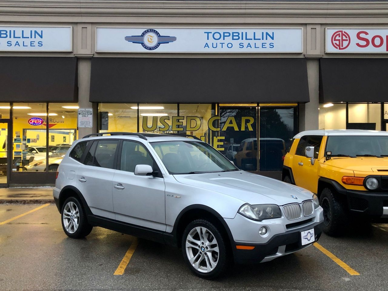 2008 BMW X3 3.0si Pano Roof, Leather, 2 years Warranty