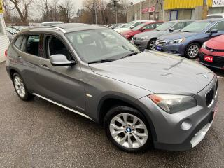 Used 2012 BMW X1 28i/ AWD/  LEATHER/ PANORAMIC SUNROOF/ ALLOYS! for sale in Scarborough, ON