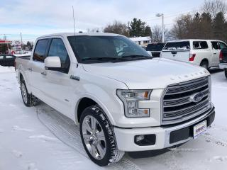 Used 2016 Ford F-150 Limited  for sale in Flesherton, ON