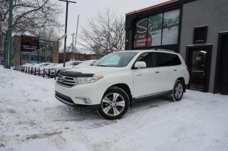 Used 2013 Toyota Highlander LIMITED 4WD V6 3.5L for sale in Laval, QC