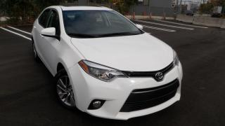 Used 2015 Toyota Corolla BI $153.53LEATHER NAV ROOF LE ECO Upgrade Pkg for sale in Toronto, ON