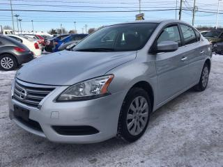 Used 2014 Nissan Sentra Berline 4 portes CVT S for sale in Terrebonne, QC