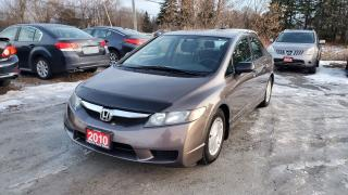 Used 2010 Honda Civic LX  VERY CLEAN for sale in Stouffville, ON