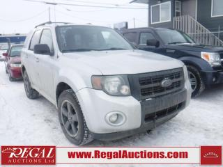 Used 2009 Ford Escape XLT 4D Utility AWD for sale in Calgary, AB
