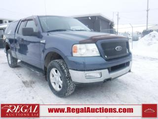 Used 2004 Ford F-150 XLT 4D SUPERCAB 4WD for sale in Calgary, AB