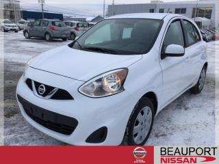 Used 2019 Nissan Micra 1.6 SV ***BALANCE GARANTIE*** for sale in Beauport, QC