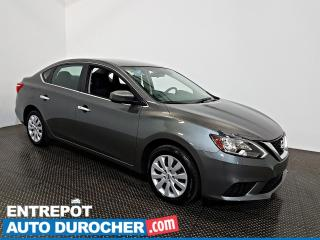 Used 2018 Nissan Sentra SV Automatique - AIR CLIMATISÉ - Sièges Chauffants for sale in Laval, QC