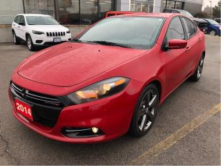 Used 2014 Dodge Dart GT Automatic w/Leather Heated Seats, Backup Cam, B for sale in Hamilton, ON