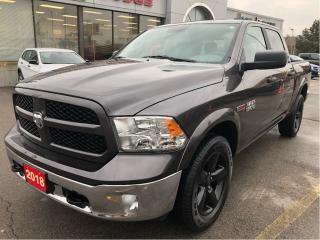 Used 2018 RAM 1500 Outdoorsman Crew 4x4 EcoDiesel w/Remote Start, Big for sale in Hamilton, ON