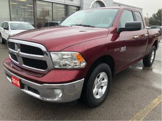 Used 2018 RAM 1500 SLT Quad 4x4 EcoDiesel w/Remote Start, Big Screen for sale in Hamilton, ON
