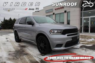 Used 2019 Dodge Durango GT | HEATED SEATS | LOW KMS | for sale in Virden, MB