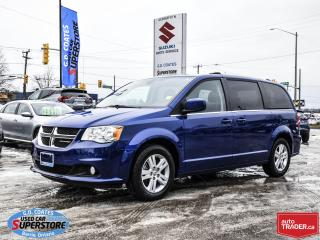 Used 2018 Dodge Grand Caravan Crew+ ~Nav ~Camera ~Heated Leather ~Power Doors for sale in Barrie, ON