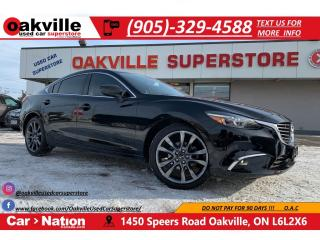 Used 2016 Mazda MAZDA6 2.5L Auto GT | LEATHER | NAV | B/U CAM | HTD SEATS for sale in Oakville, ON