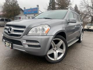 Used 2012 Mercedes-Benz GL-Class 4MATIC 4dr 3.0L BlueTEC|AMG PKG|| ACCIDENT FREE|DIESEL for sale in Brampton, ON