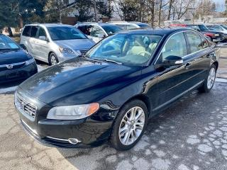 Used 2007 Volvo S80 4.4 litre Yamaha V-8, RARE, no accidents, service history for sale in Halton Hills, ON