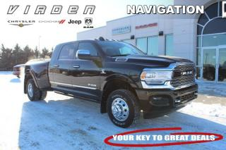 New 2019 RAM 3500 New Limited - Diesel Engine - Leather Seats for sale in Virden, MB