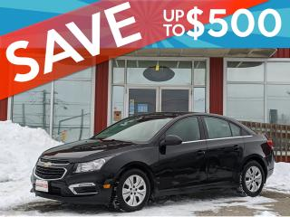 Used 2016 Chevrolet Cruze LT CERTIFIED,Backup Camera, WE APPROVE ALL CREDIT!! for sale in Guelph, ON
