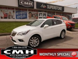 Used 2016 Buick Envision Premium I  AWD NAV LEATH ROOF P/GATE for sale in St. Catharines, ON