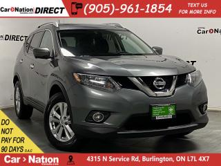 Used 2016 Nissan Rogue SV Tech| AWD| PANO ROOF| NAVI| BACK UP CAMERA| for sale in Burlington, ON