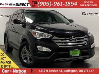 Used 2013 Hyundai Santa Fe 2.4L Premium| HEATED SEATS & STEERING WHEEL| for sale in Burlington, ON