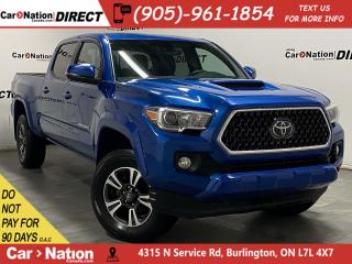 Used 2018 Toyota Tacoma TRD SPORT| 4X4| ONE PRICE INTEGRITY| for sale in Burlington, ON