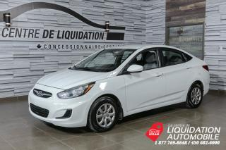 Used 2013 Hyundai Accent GL+GR ELECTRIQUE+AIR for sale in Laval, QC