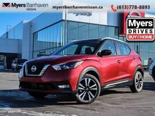 New 2020 Nissan Kicks SR  - Heated Seats -  Fog Lights - $158 B/W for sale in Nepean, ON