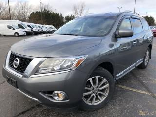 Used 2015 Nissan Pathfinder SL 4WD for sale in Cayuga, ON