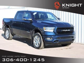 New 2020 RAM 1500 Big Horn Sport Crew Cab 4x4 HEMI | Heated Seats/Steering Wheel | NAV | Remote Start | Backup Camera for sale in Weyburn, SK