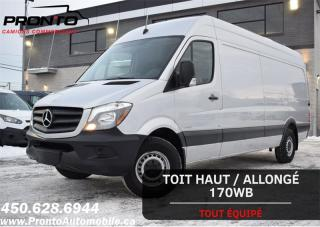 Used 2015 Mercedes-Benz Sprinter 2500 170WB ** HAUT/LONG ** Extended HR ** for sale in Laval, QC