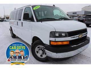 Used 2018 Chevrolet Express Passenger LT | No Accidents, Rear View Camera. for sale in Prince Albert, SK